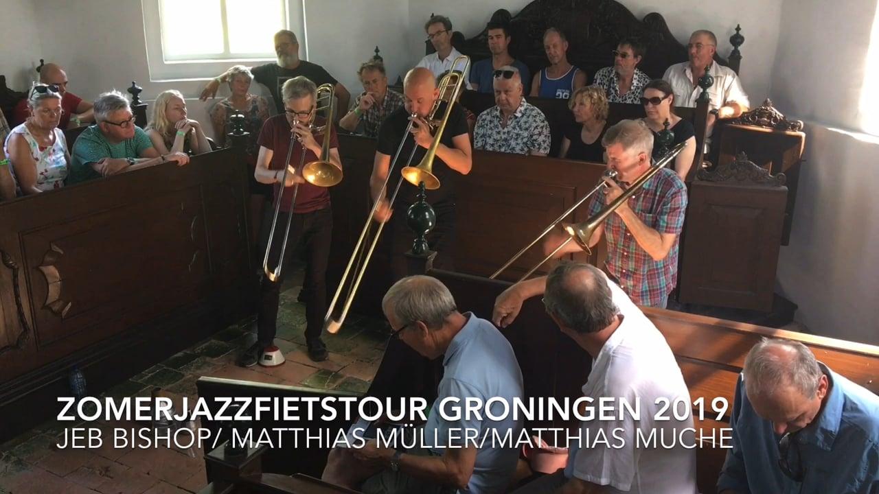 Bone Crusher Tour 2019: Jeb Bishop, Matthias Müller, Matthias Muche